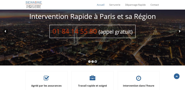 Serrure Parisienne : Dépannage Serrurier Paris