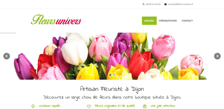 Fleurs Univers : Fleuriste Dijon