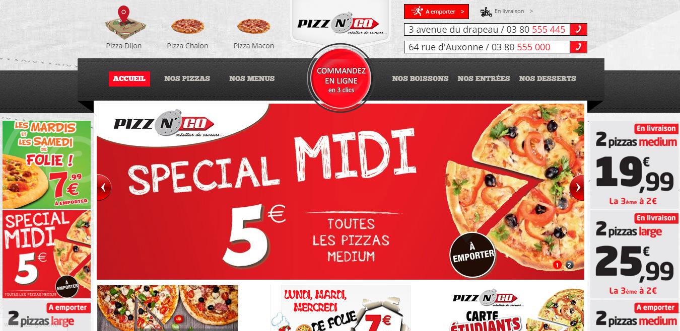 Pizz'n Go : Livraison Pizza Dijon, Macon, Chalon
