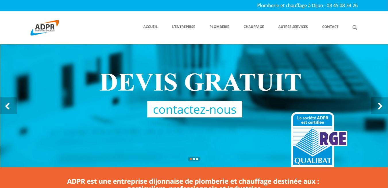 Plombier Dijon ADPR