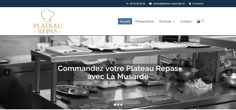 Plateau Repas Dijon