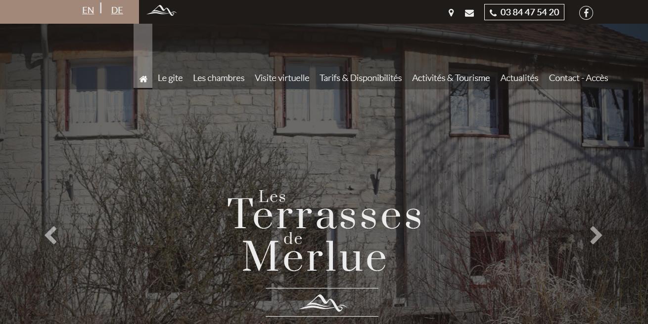 Grand Gite Jura Les Terrasses de Merlue