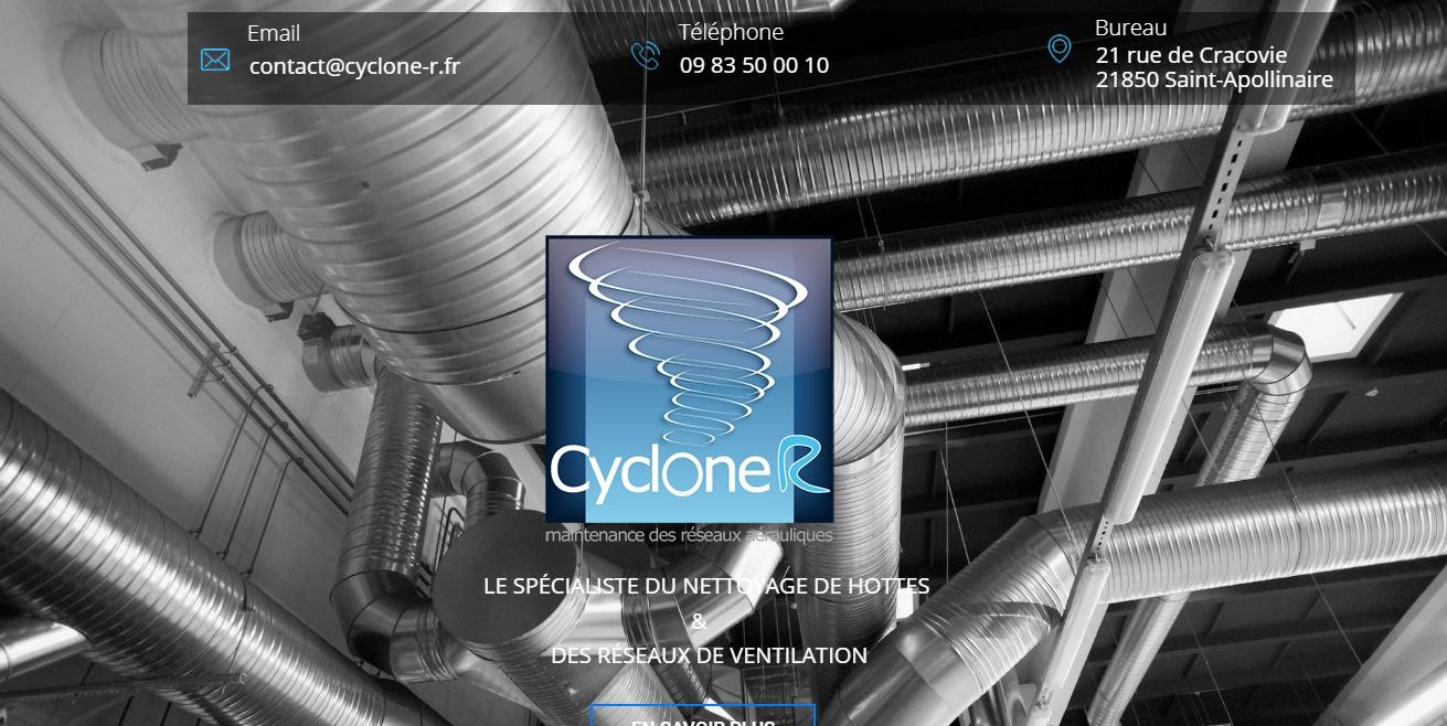 Cyclone R : Nettoyage de Hottes à Dijon