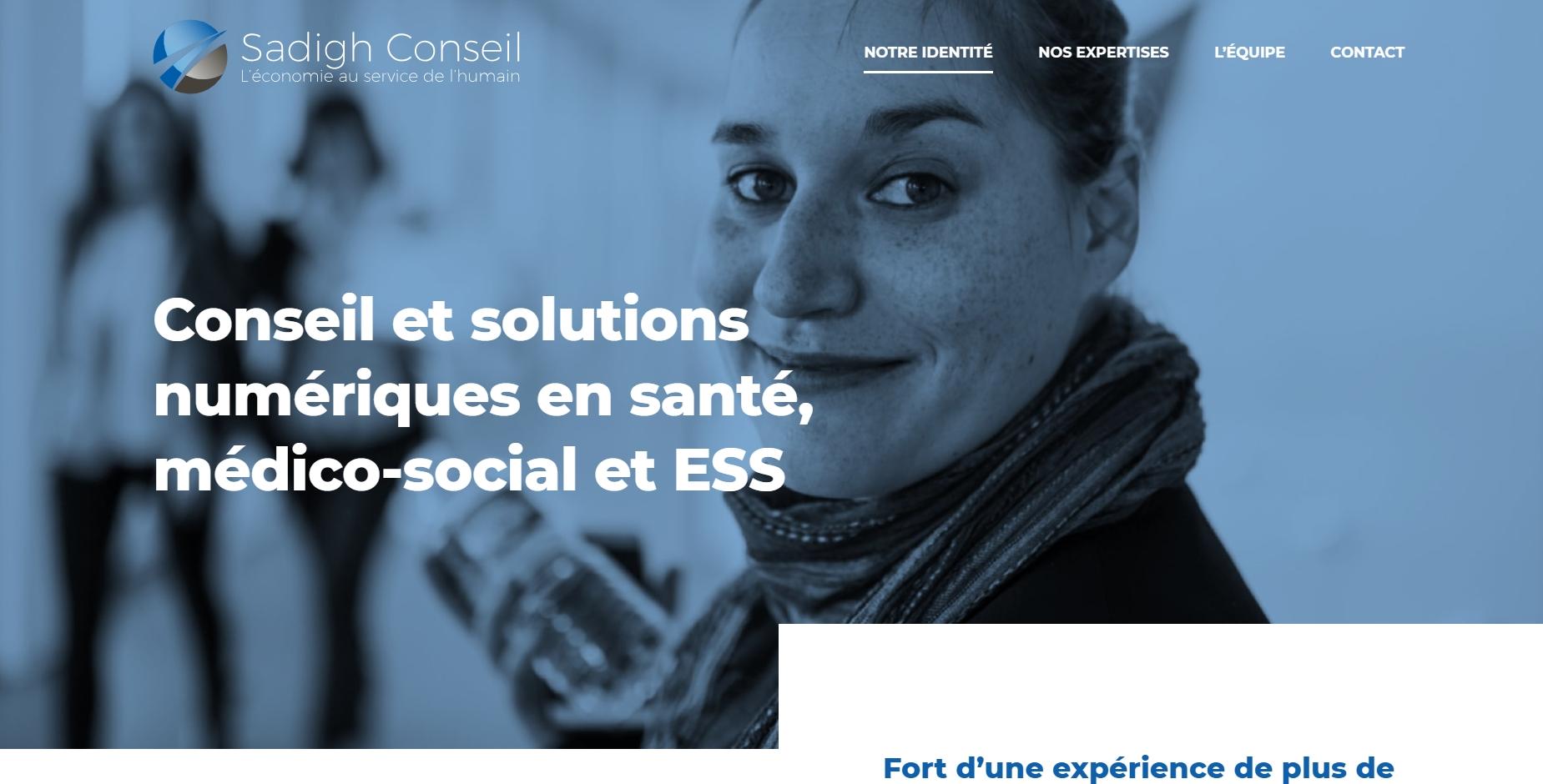 Conseil et Solutions numériques en santé, médico-social et ESS