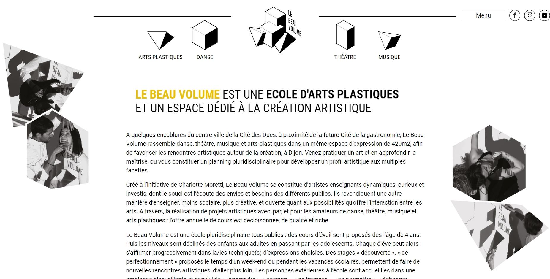 Activités Artistiques Le Beau Volume à Dijon