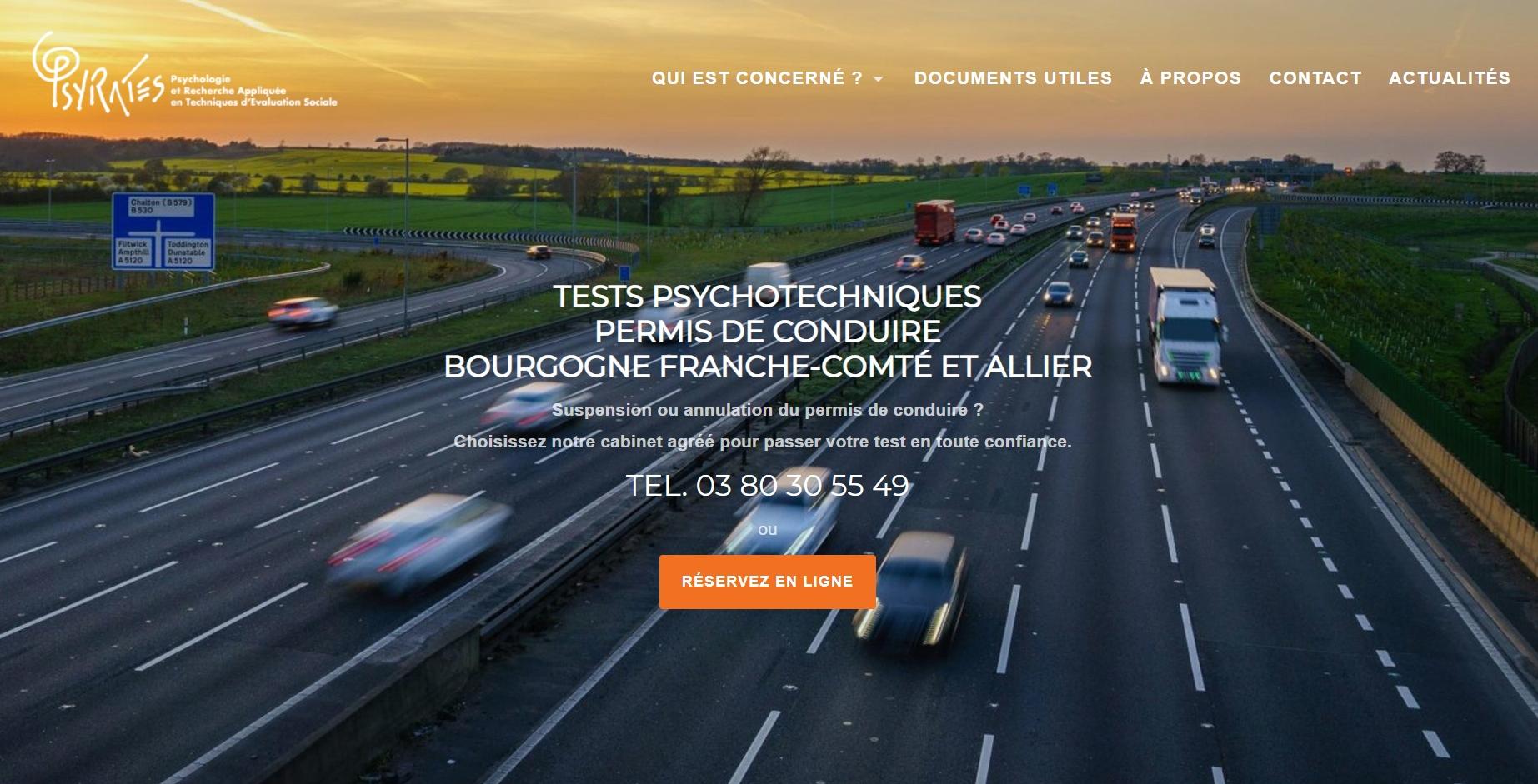Tests Psychotechniques Permis de Conduire