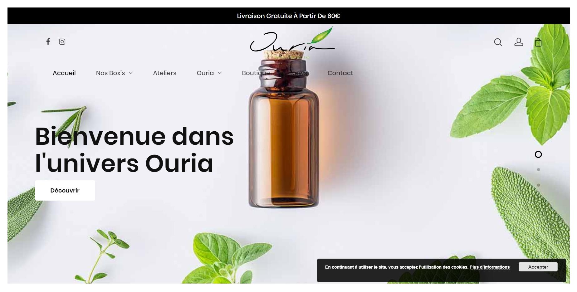 Ouria Kit De Fabrication De Cosmétiques Maison